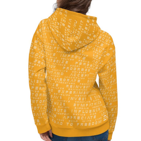 Krug Road to Freedom Hoodie Mellow Yellow 25ITWC on David Krug Online Store