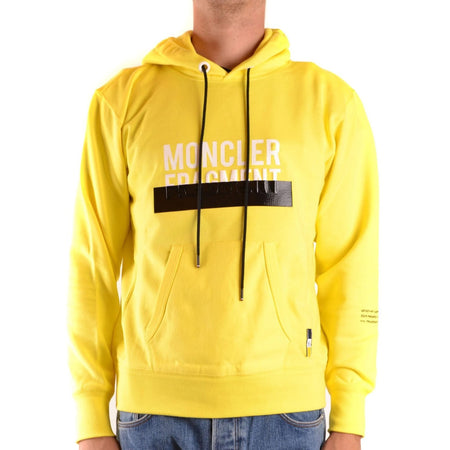 Moncler Fragment Hoodie Yellow Fashion on David Krug Online Store