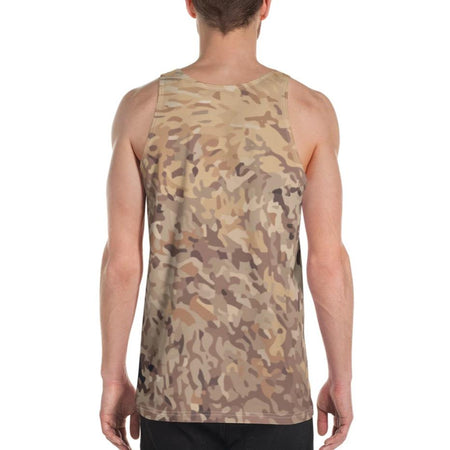 Peace Over War DK Camo Tank Top on David Krug Online Store