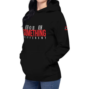 Rob E Something Different Hoodie on David Krug Online Store