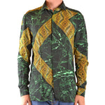 Versace Geometric Pattern Shirt Fashion on David Krug Online Store