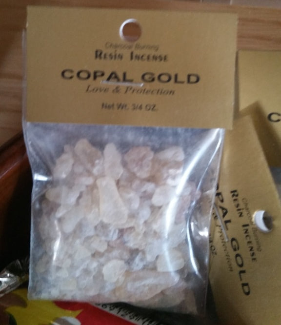Copal Gold Resin Incense