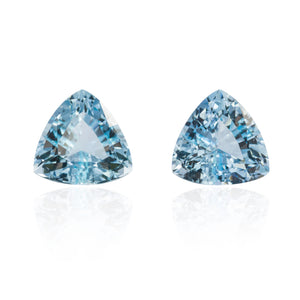 Aquamarine Pair 6.07cts