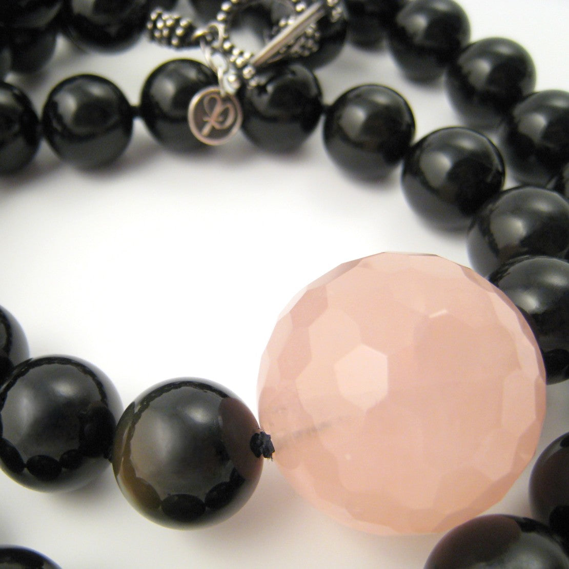The Black Orb Necklace
