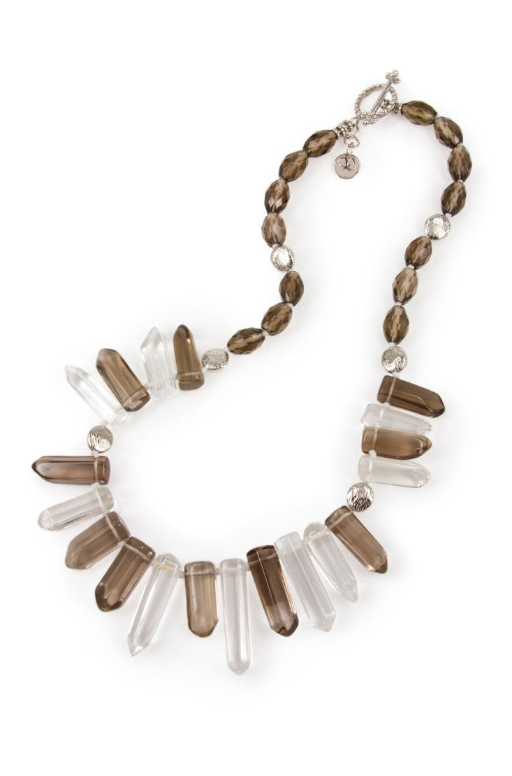 The Crystal Magic Smoky Necklace