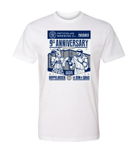 9th Anniversary Shirt - White