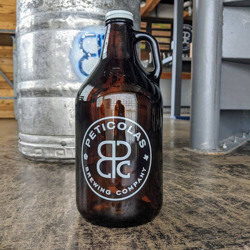 64 oz Glass Growler Fills