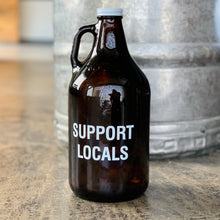 Load image into Gallery viewer, 64oz Support Locals Growler