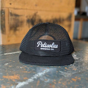 Black Mesh Trucker Hat