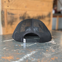 Load image into Gallery viewer, Black Mesh Trucker Hat