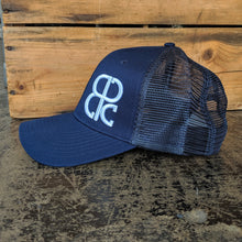 Load image into Gallery viewer, Peticolas Side Logo Trucker Hat