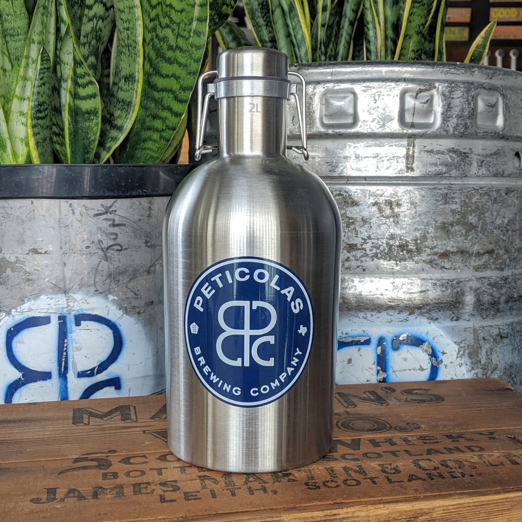 Stainless Steel Growler 2L
