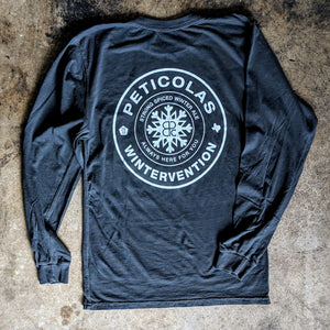 Wintervention Long Sleeve Pocket Tee