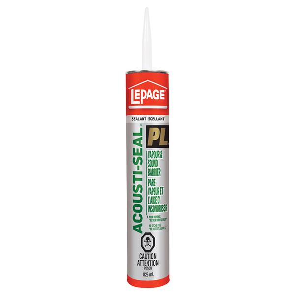 Adhesive PI Acoustic-Seal 825ml Lepage628822
