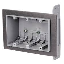 SLH-3A 3-gang switch plastic waterproof wiring box