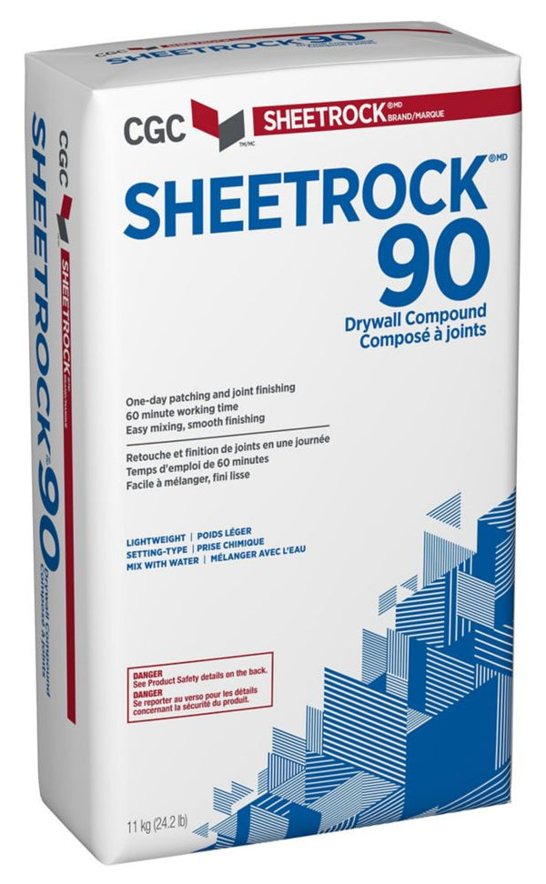 CGC SHEETROCK 90 Setting-Type Joint Compound,11kg/bag