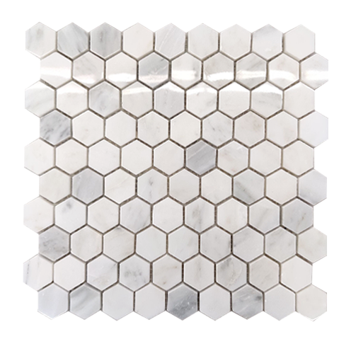 Mosaic TA3002 Natural Stone White&Grey (hexagon, 315x285x10mm)