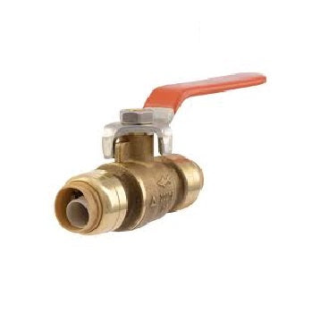 Push-Fit Ball Valve Lead free 1/2x1/2