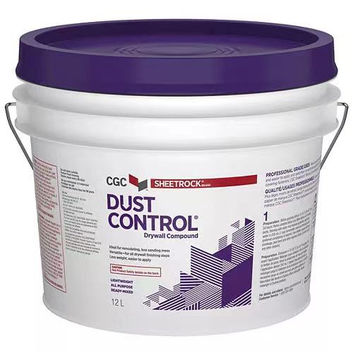 CGC dust control drywall compound 12L