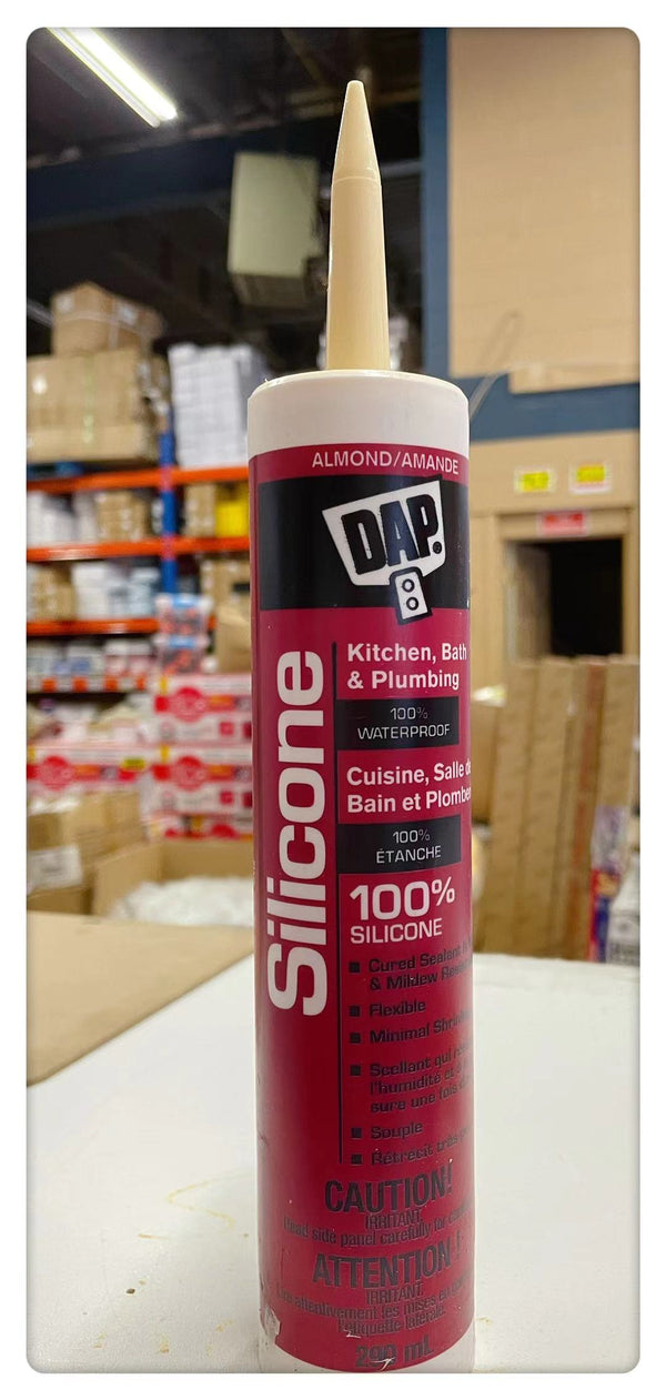 DAP Silicone 290ml - Kitchen, Bath & Plumbing (Almond)