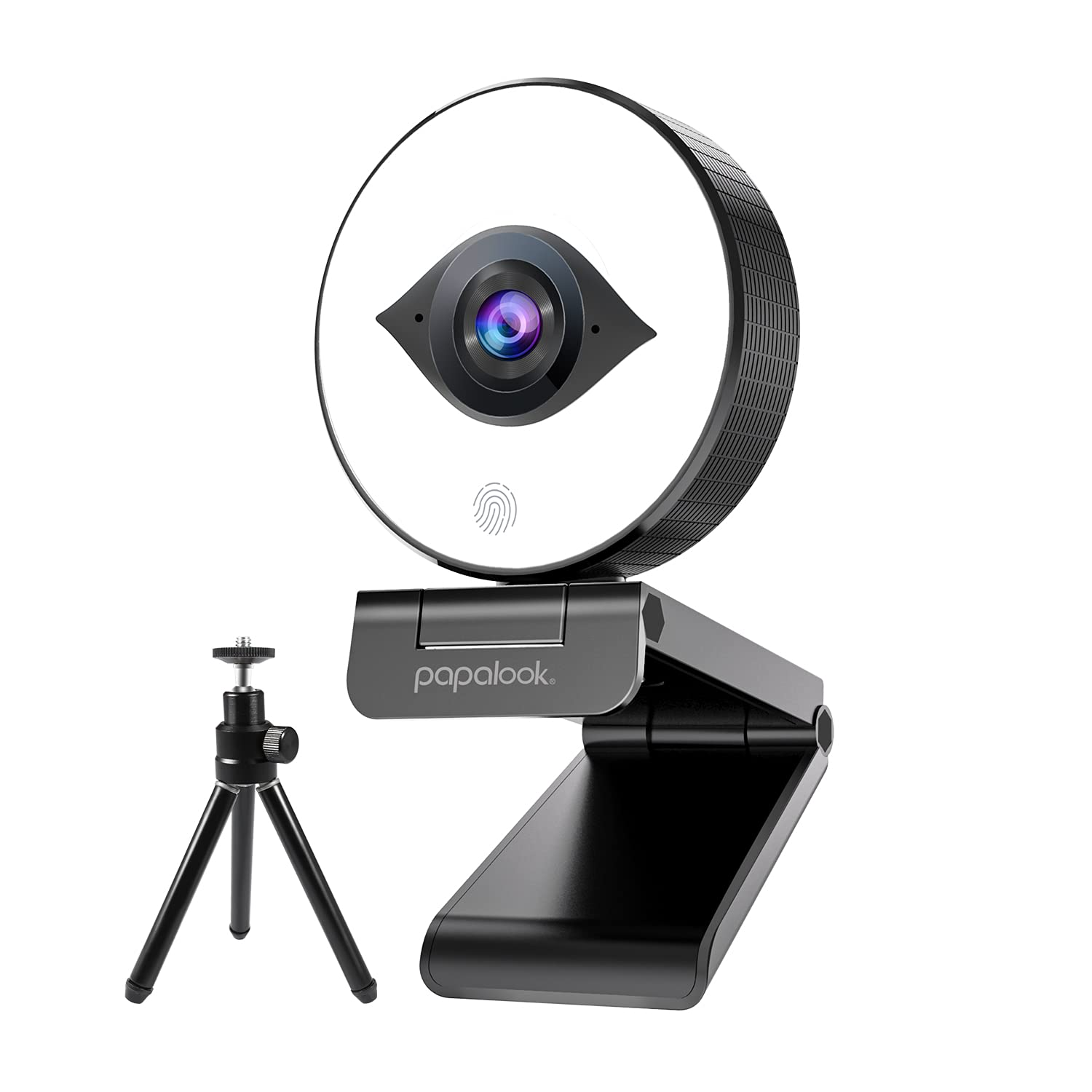 Papalook PA552 Pro 1080P/60FPS Autofocus Webcam with Tripod