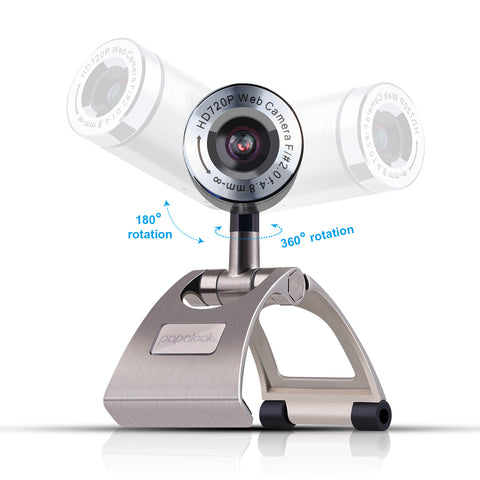 PAPALOOK PA150 720P Live Video Webcam with Mic