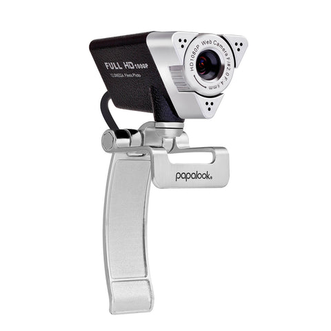 PAPALOOK PA187 1080P Webcam with Noise Cancelling Microphone