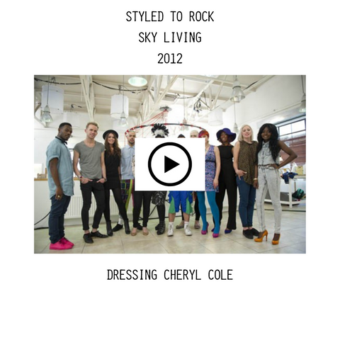 Styled to Rock Heidi May Cheryl Cole Video