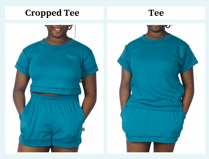 Fit guide - Aesthetic Laundry - ethical  sustainable crop tee, t shirt and t shirt dress dresses - summer 2021 – plus size – size inclusive