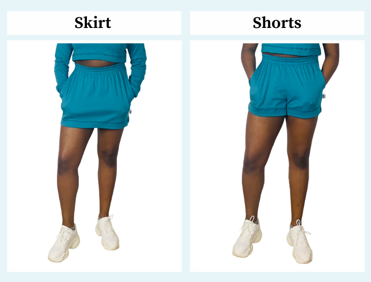 Fit guide - Aesthetic Laundry -  ethical lightweight joggers, shorts and skirts - summer 2021 – plus size – size inclusive