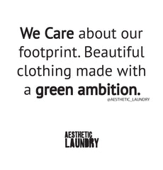 Aesthetic Laundry company values