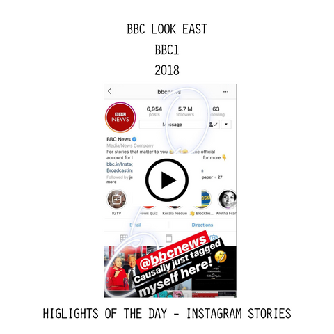 BBC Look East Aesthetic Laundry Instagram Highlights Video