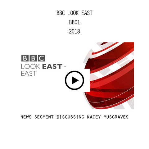 BBC Look East Heidi May Kacy Musgraves video