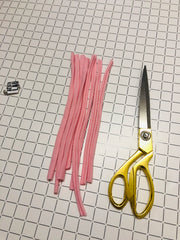 Make your own tassel keyring step 7