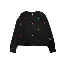 Load image into Gallery viewer, Confetti Jumper - Black