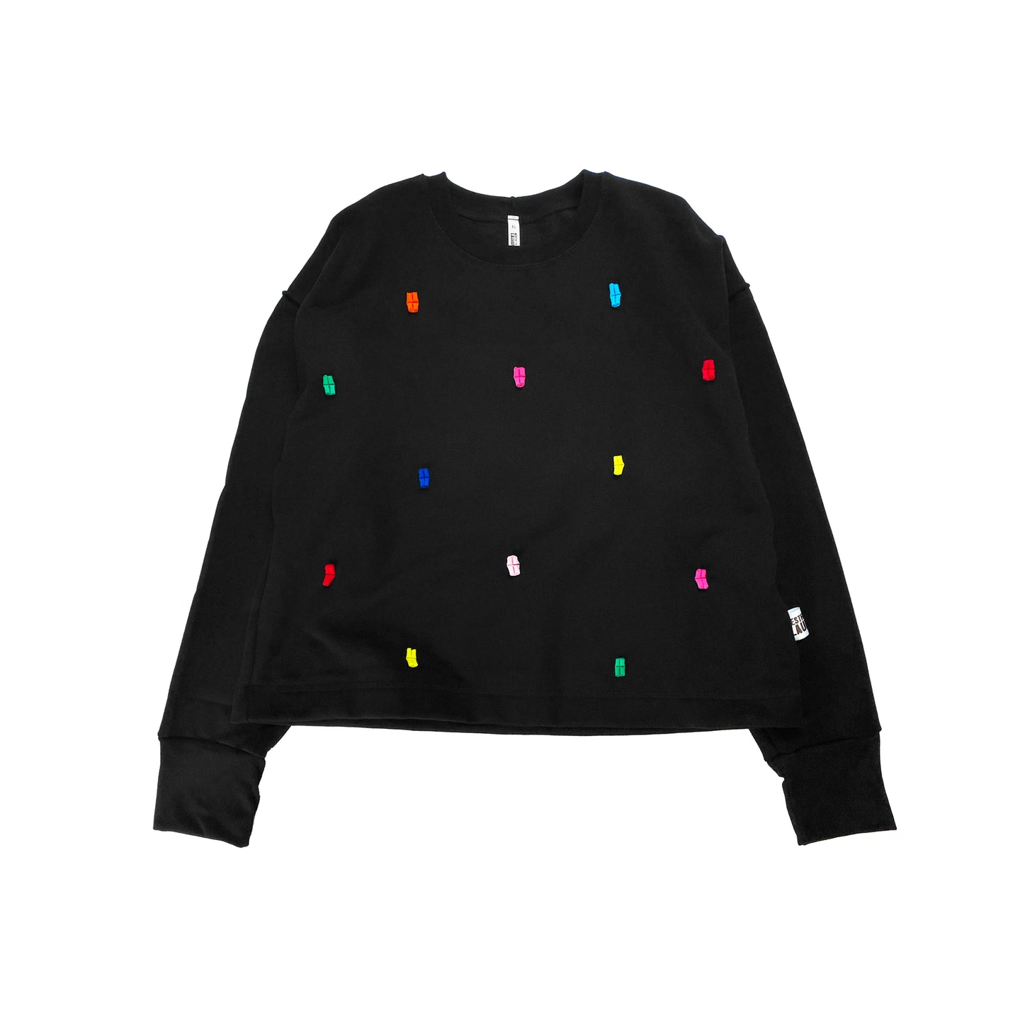Confetti Jumper - Black