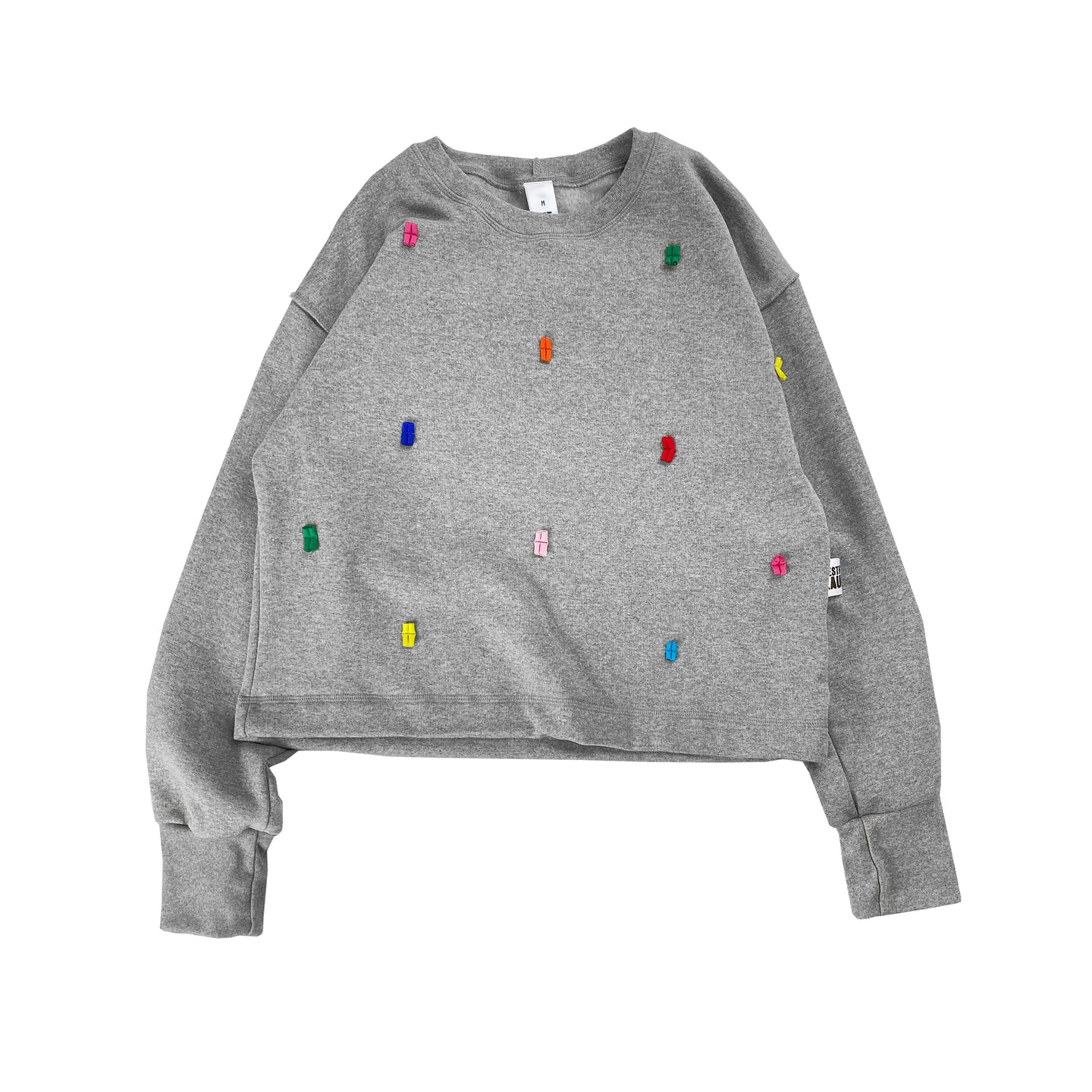 Confetti Jumper - Grey