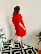Load image into Gallery viewer, red-confetti-dress