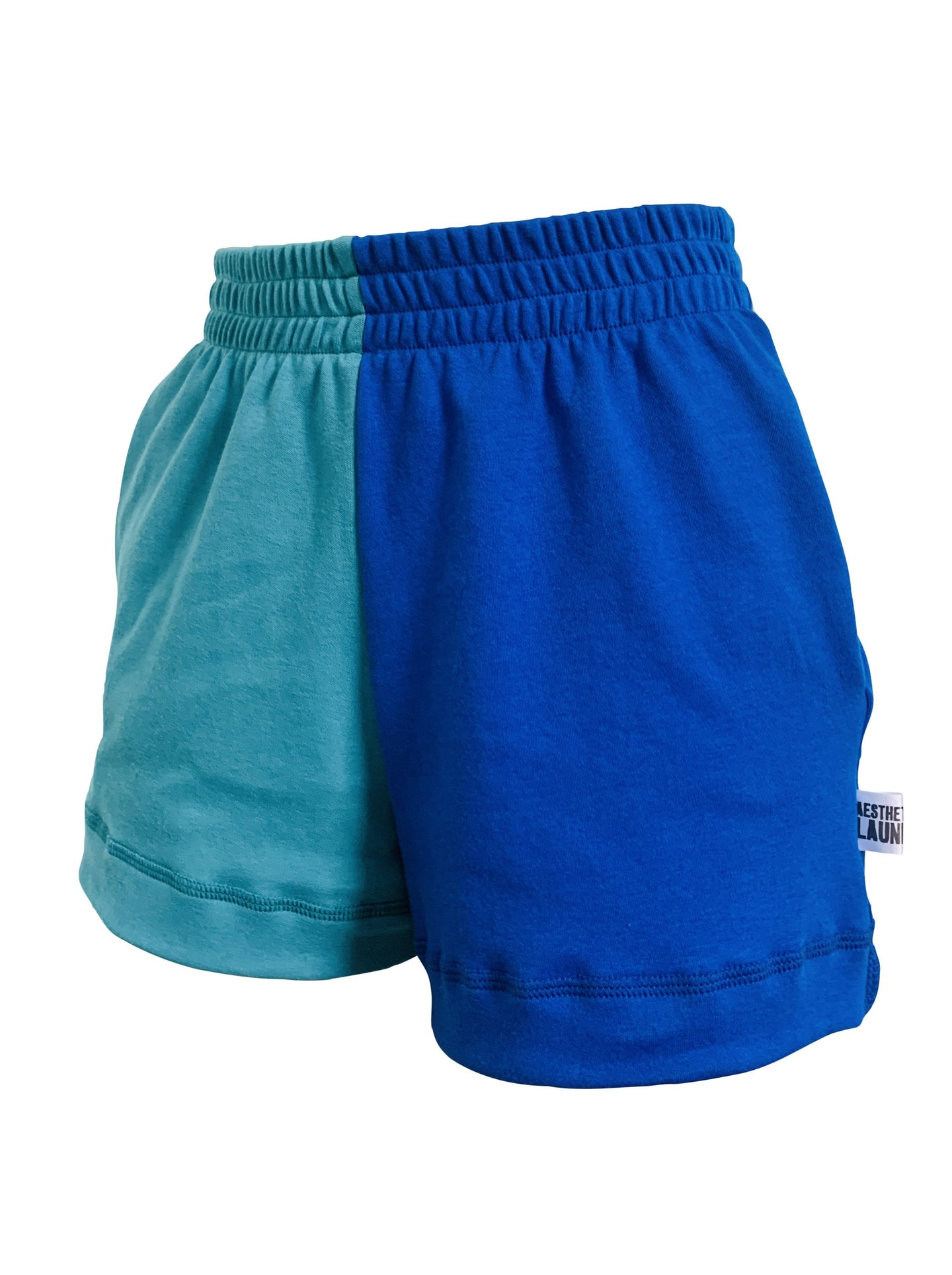 blue-teal-shorts