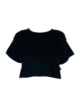 Load image into Gallery viewer, AL Cropped Tee - Black