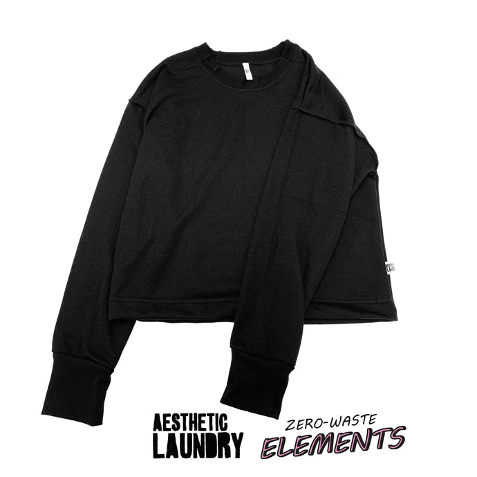 Serge All Black Elements Jumper - Black