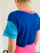 Load image into Gallery viewer, colourpop-cropped-tee-cobalt