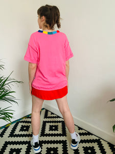 Serge Elements Tee - Hot Pink