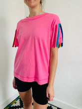 Load image into Gallery viewer, tassel-tee-pink