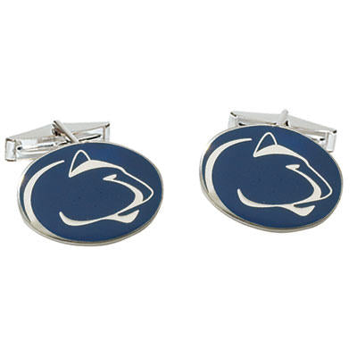 Lion Logo Enamel Cuff Links