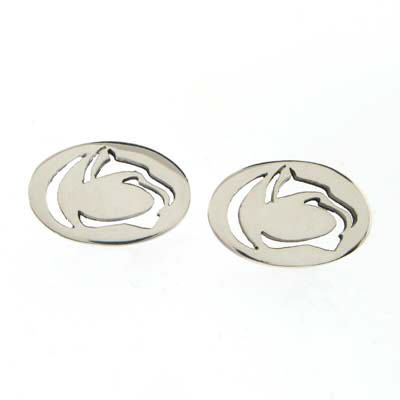 Penn State Cut Out Lion Logo Earrings