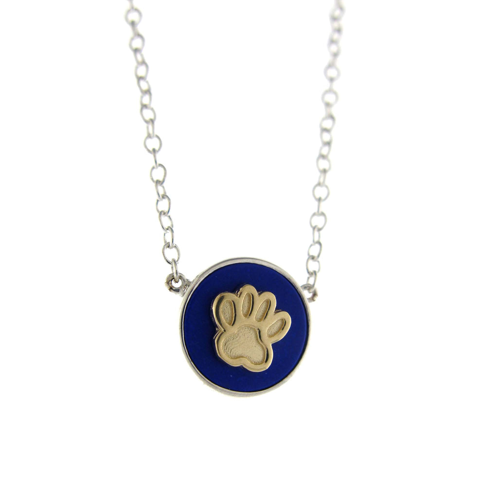 "Paw Print ""Dream"" Necklace- 2T"