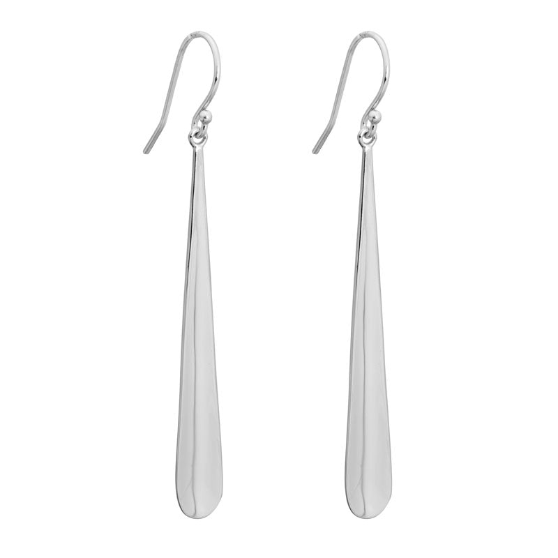 Elongated Tear Drop Earring