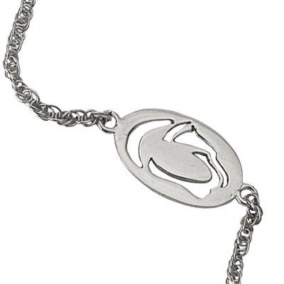 Penn State Cut Out Lion Logo Anklet