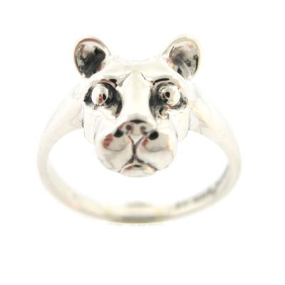 Large Lion Head Ladies Ring
